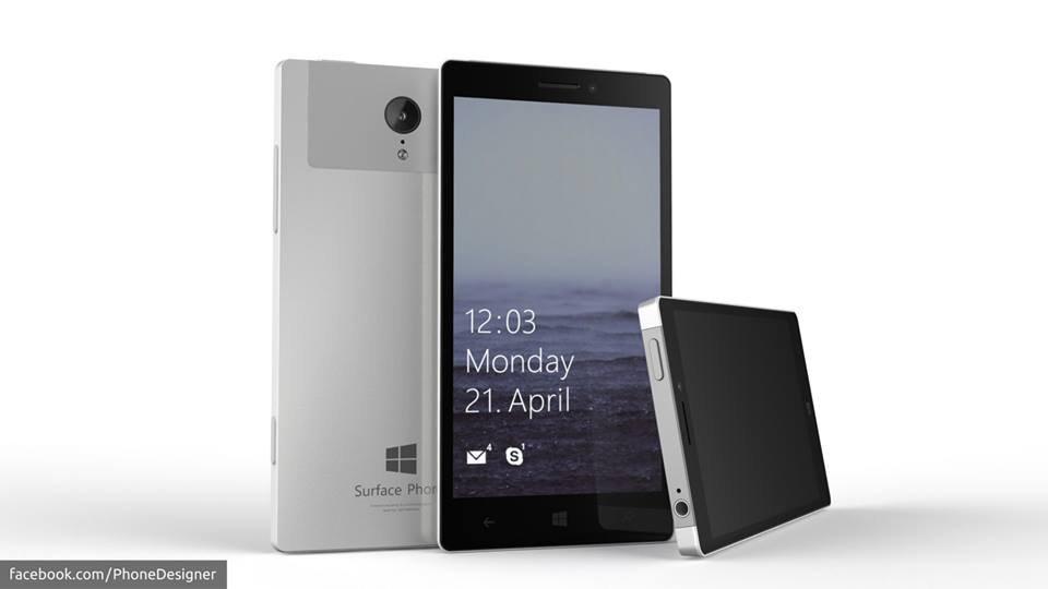 Mircosoft Surface Phone Concept