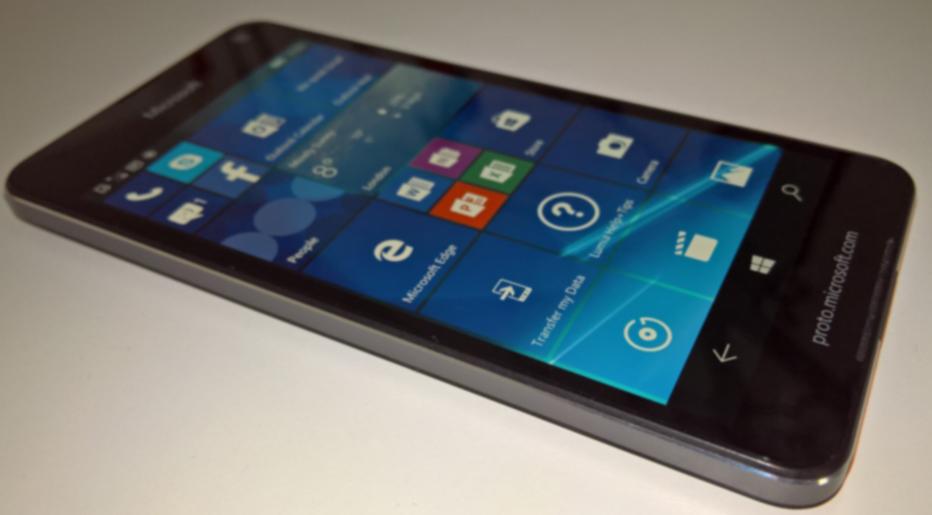 Microsoft Lumia 650 Image leaked
